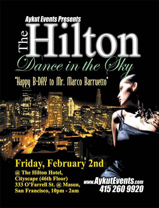 THE HILTON - BUY YOUR TICKETS NOW!