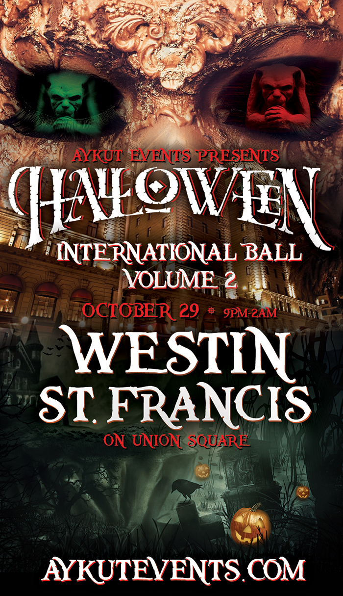 best halloween party in san francisco westin st francis 2016 aykut ...