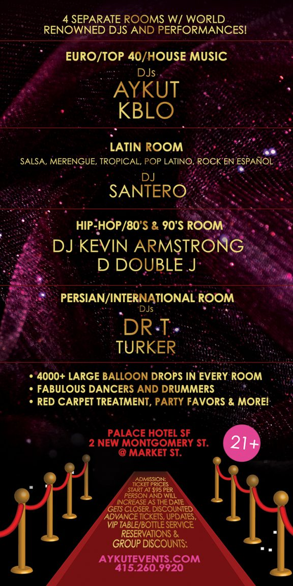 Best New Years Eve Party In San Francisco NYE 2019 2020